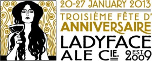 Ladyface Ale Companie Celebrates 3rd Anniversary