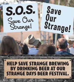 Save Our Strange