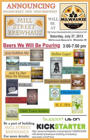 Mill Street Brewhaus@Milwaukee Brewfest