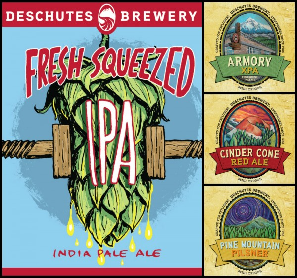 2014 Deschutes Brewery New Year-round Beers