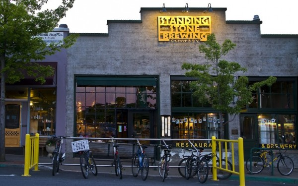 standing stone brewery front
