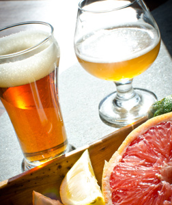 Sour craft Beers and the food they love