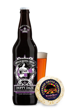 Coronado Brewing Co. Hoppy Daze and Cypress Grove Purple Haze