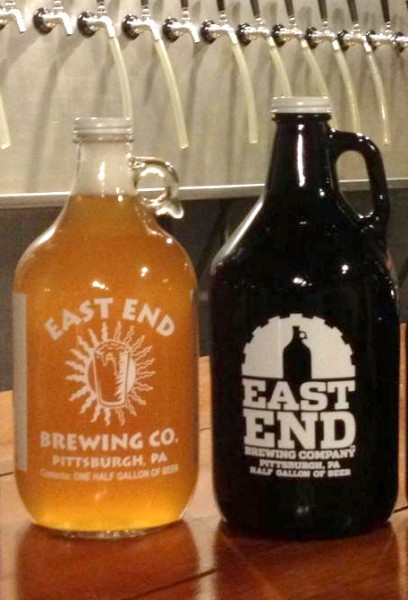 East End Brewing Switching to Amber Growlers Despite Higher Cost