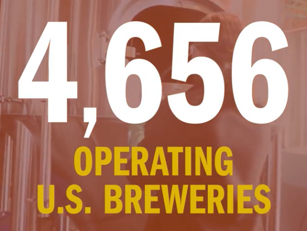 4,656 operating breweries