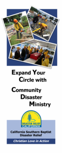 Community Disaster Ministry Trifold 2-20