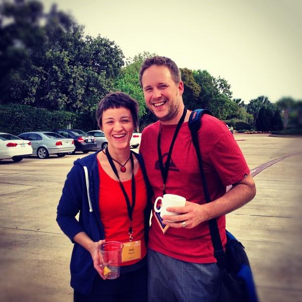 Jeremy Latham & Kelly Packer at EECI 2012