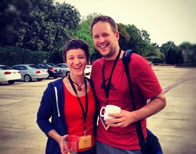Jeremy Latham & Kelly Packer at EECI 2012