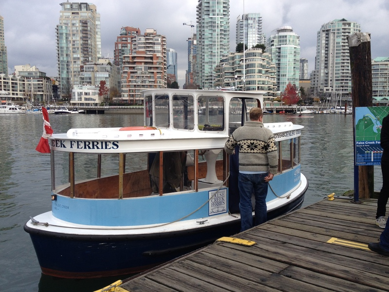 Tiny Ferry to Granville Island
