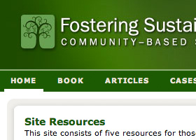 Fostering Sustainable Behavior: Community–Based So
