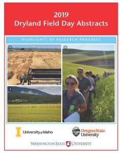 2019 Field Day Abstracts cover.