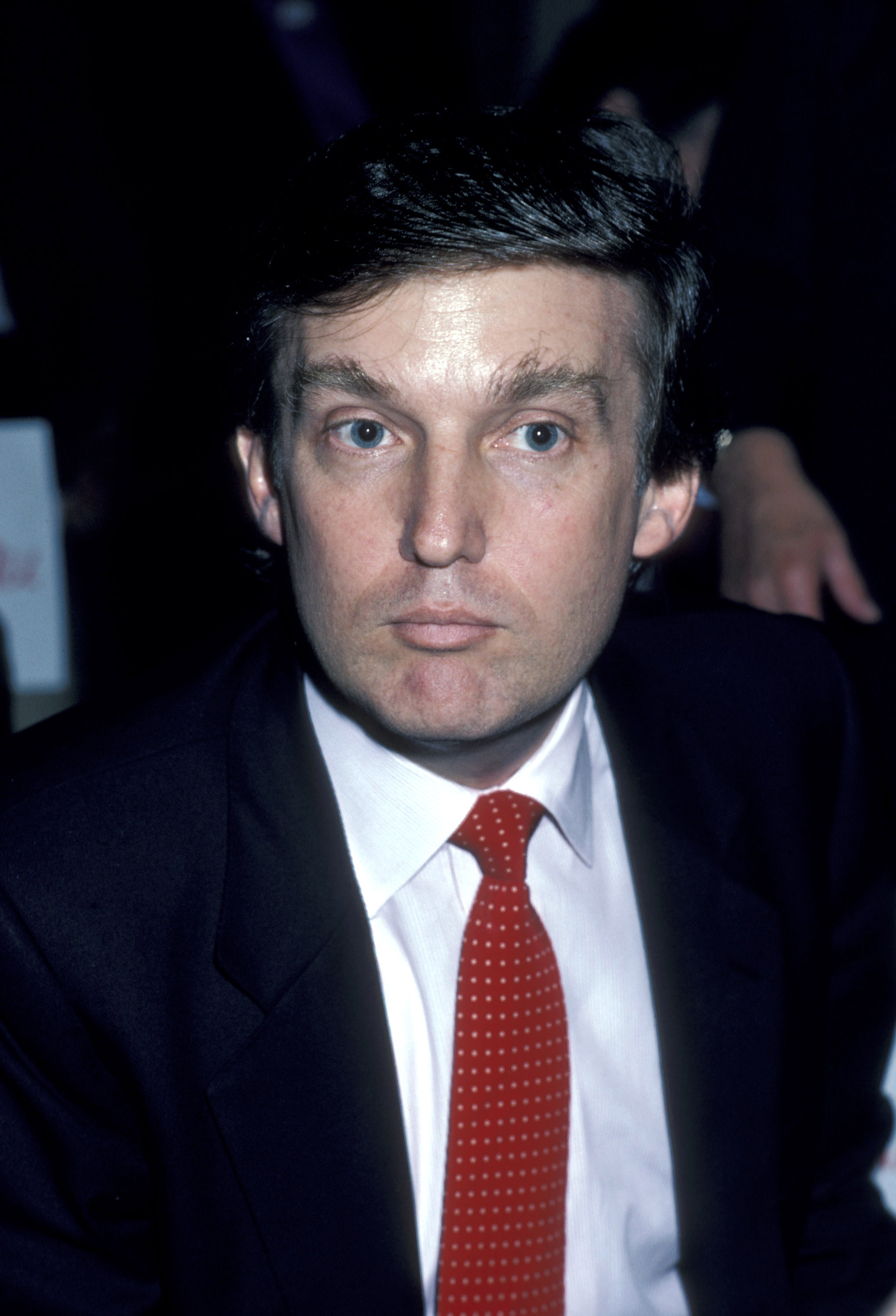 "Donald Trump during ""Liberty Lunch"" To Close Liberty Weekend - July 7, 2006 at Waldorf Astoria Hotel in New York City, New York, United States. (Photo by Ron Galella/WireImage)"