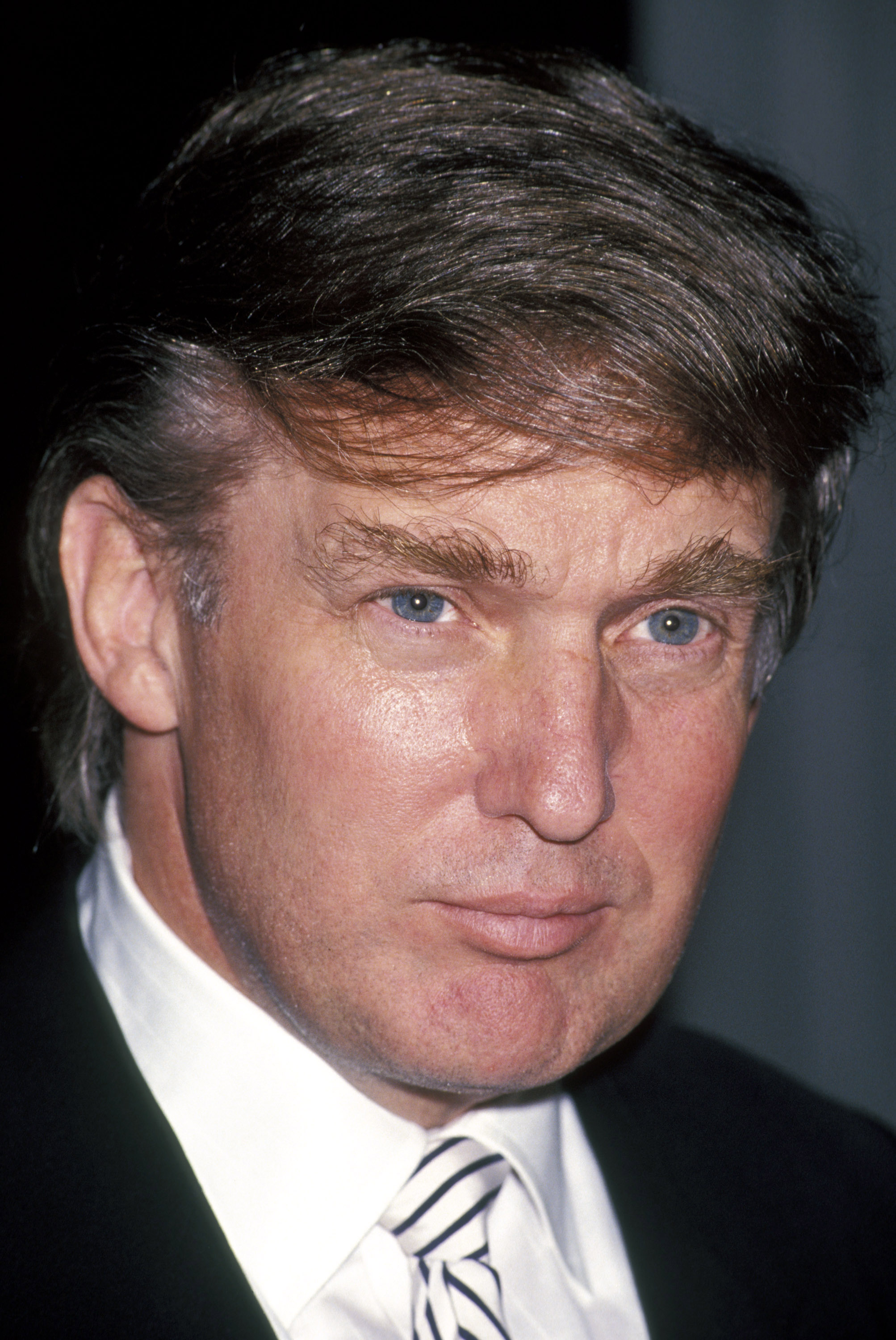 Donald Trump during Business Traveler International Luncheon - November 26, 1991 at Plaza Hotel in New York City, New York, United States. (Photo by Ron Galella/WireImage)