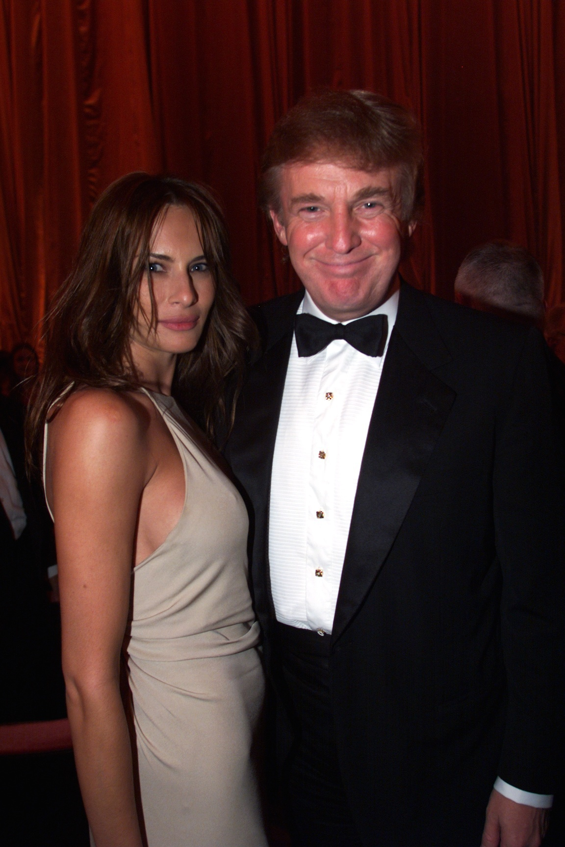 Donald Trump & girlfriend during Grand Re-opening Gala of the Radio City Music Hall at Radio City Music Hall in New York City, New York, United States. (Photo by KMazur/WireImage)