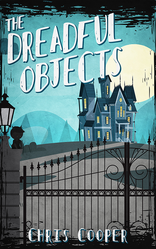 The dreadful objects cover 500x800 cover reveal and promotional