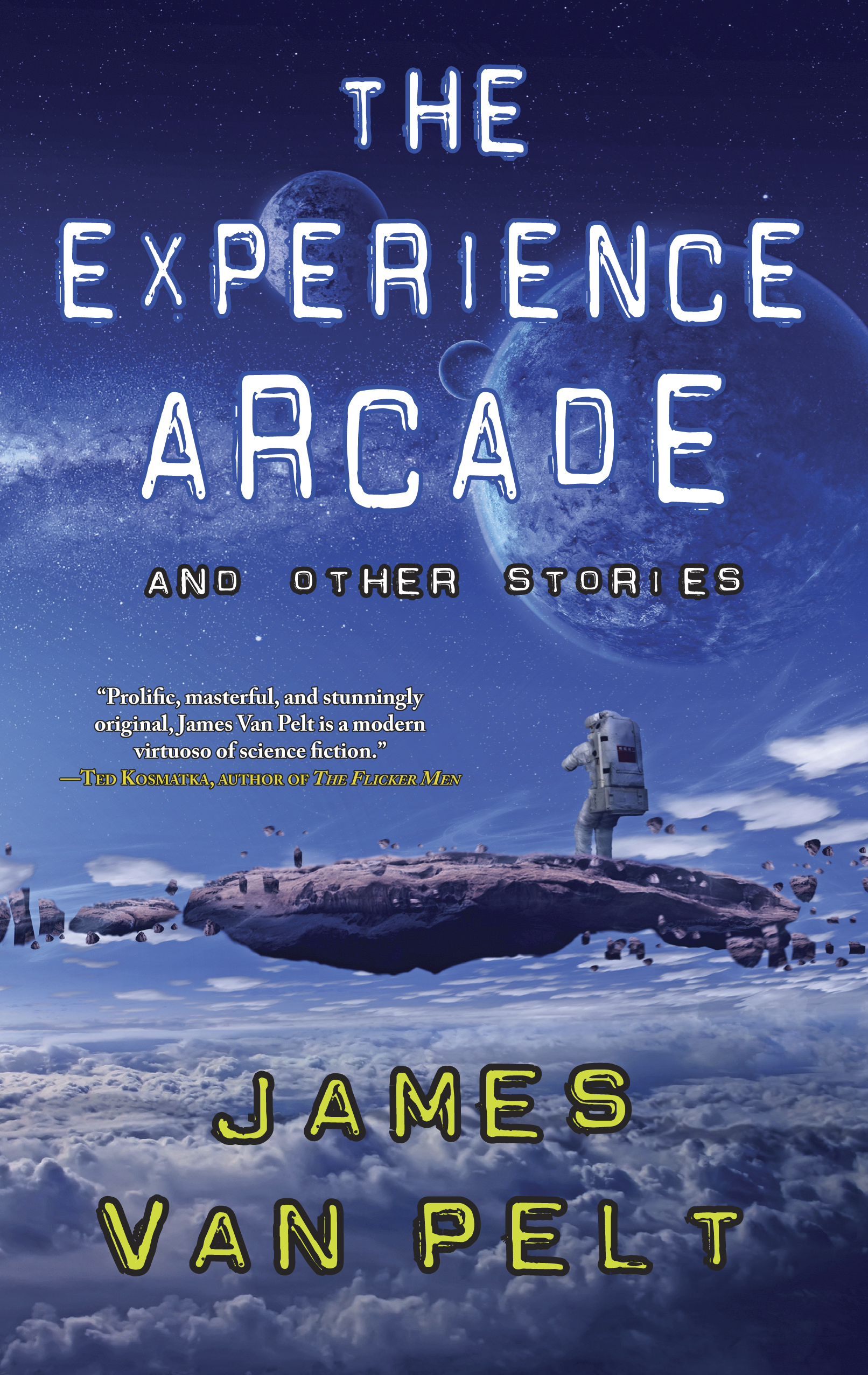 Experience arcade front cover final