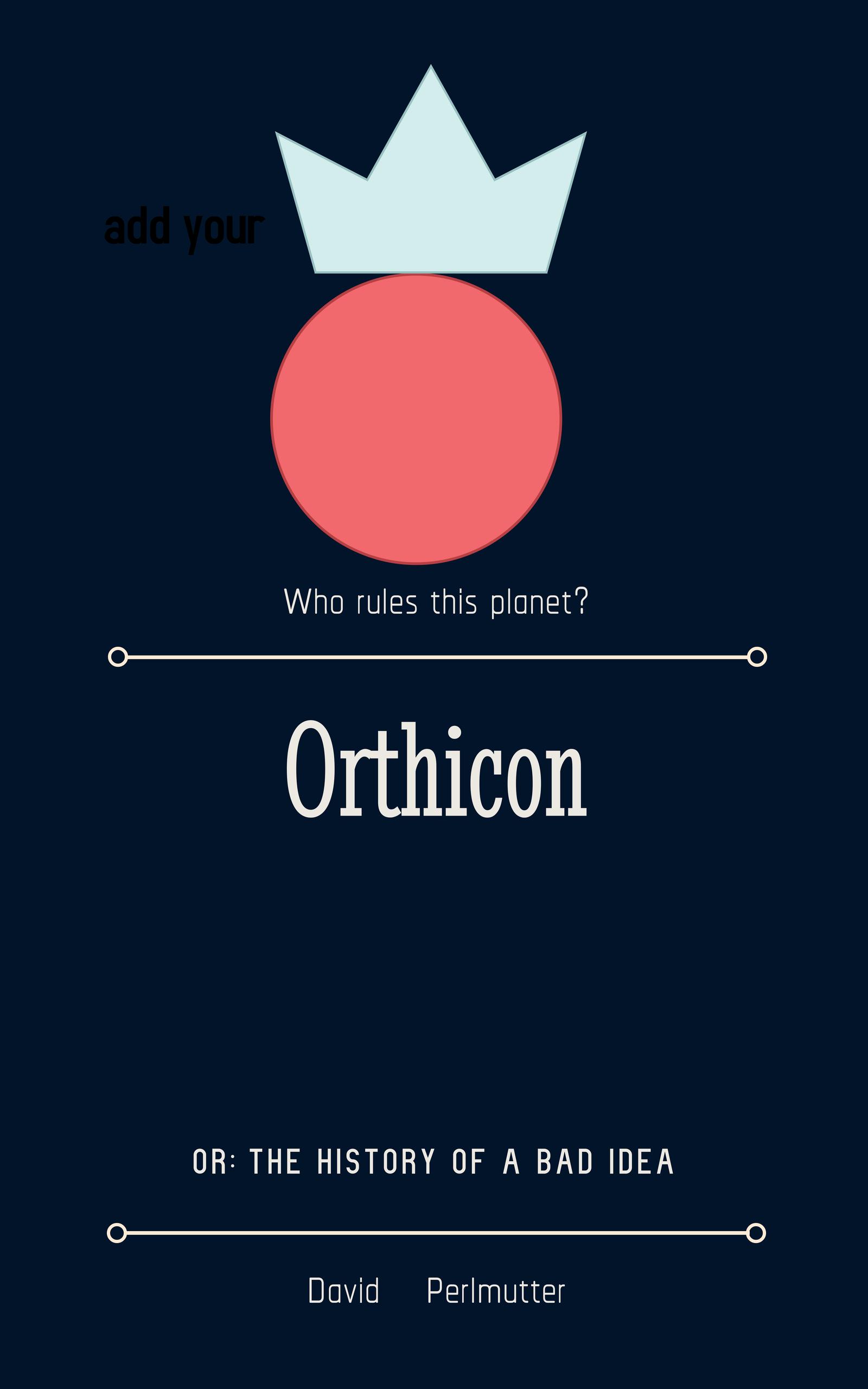 Orthicon book cover