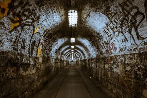 Tunnel underground underpass lighting 60893