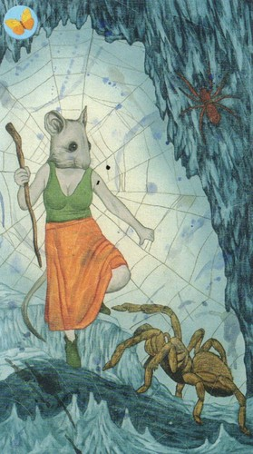 8 of swords mouse
