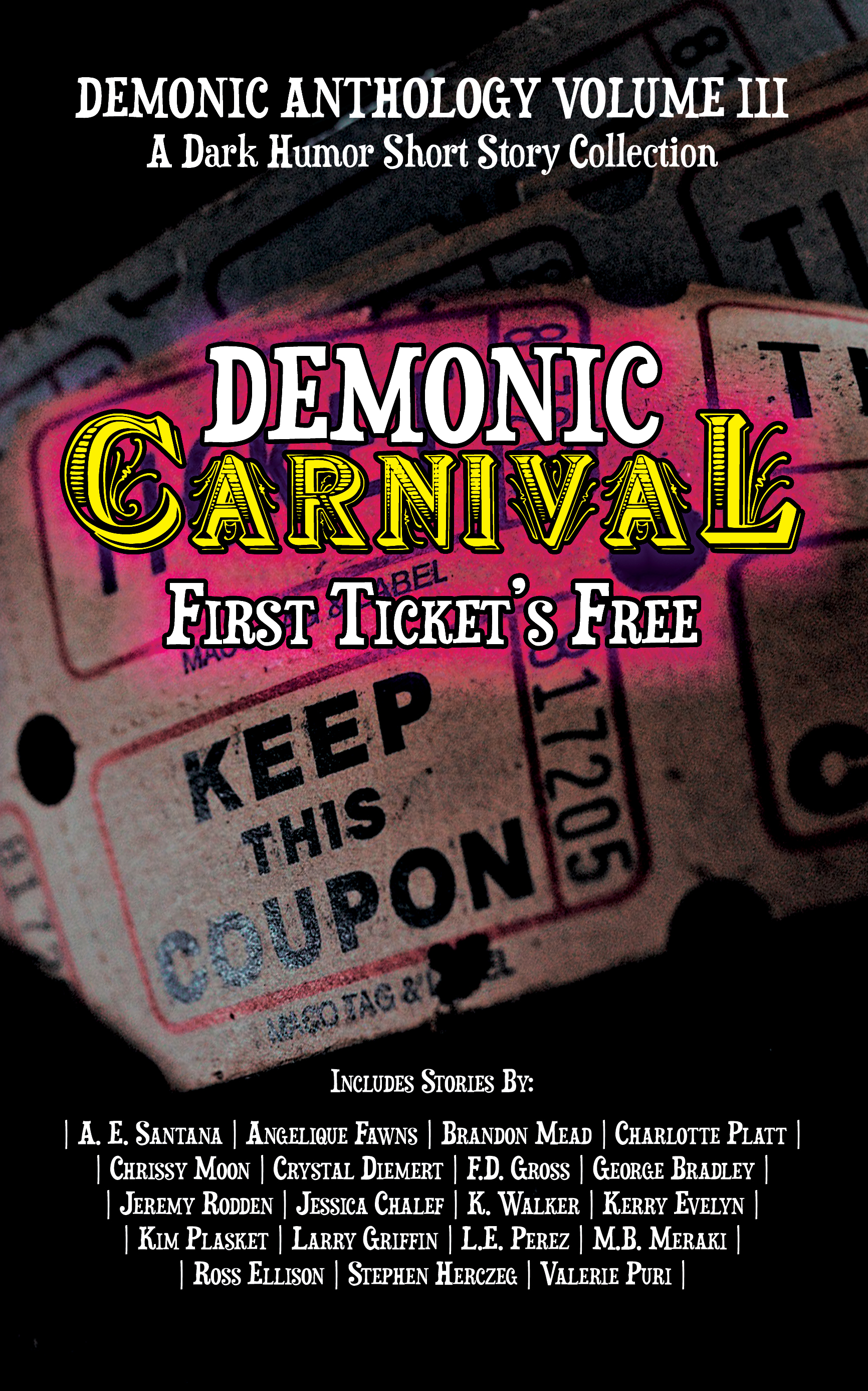 Demoniccarnival kindle cover