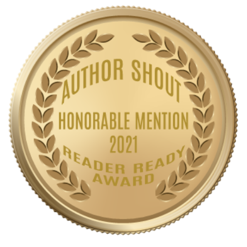 2021 author shout reader ready award   honorable mention