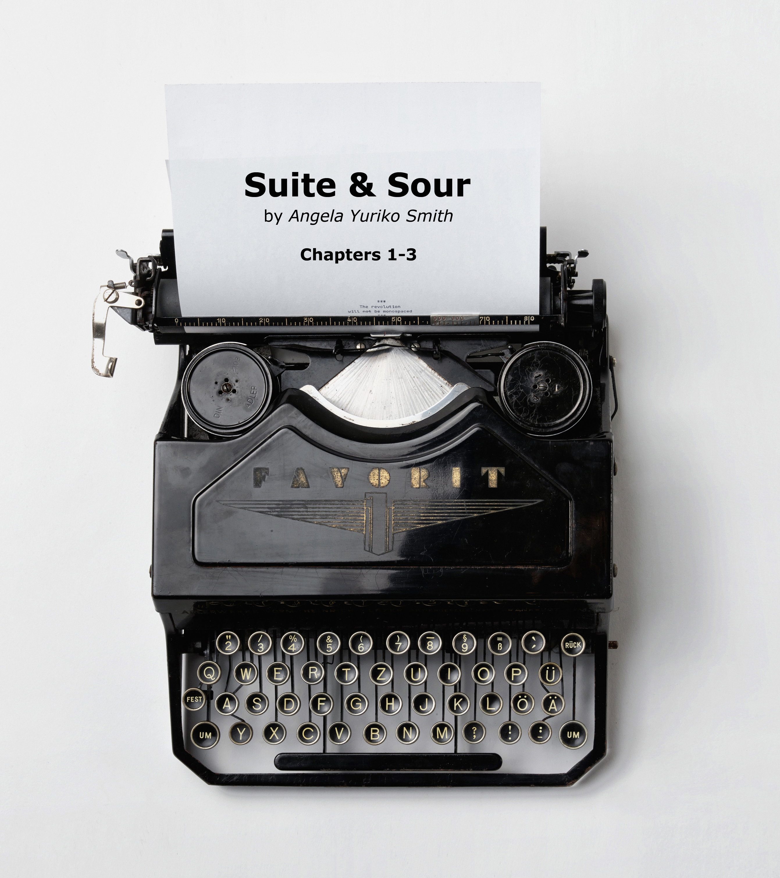 Typewriter suite and sour