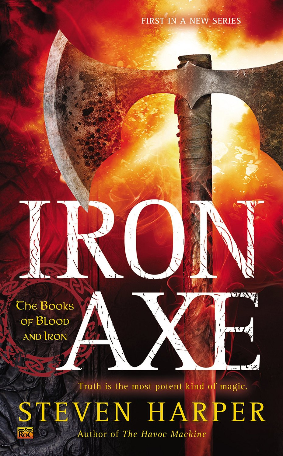 Iron axe cover