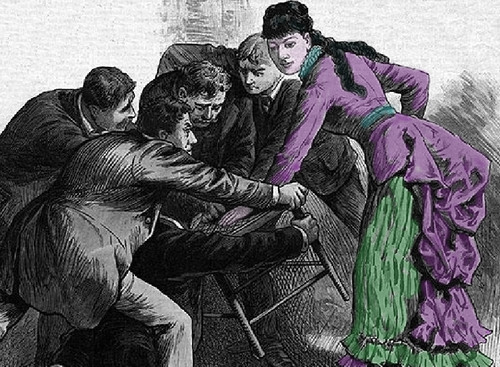 The victorian teenage girl who entertained crowds by overpowering men 1