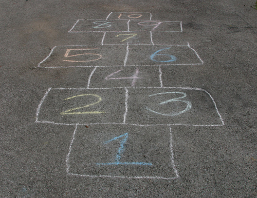 Hopscotch drawing 13625