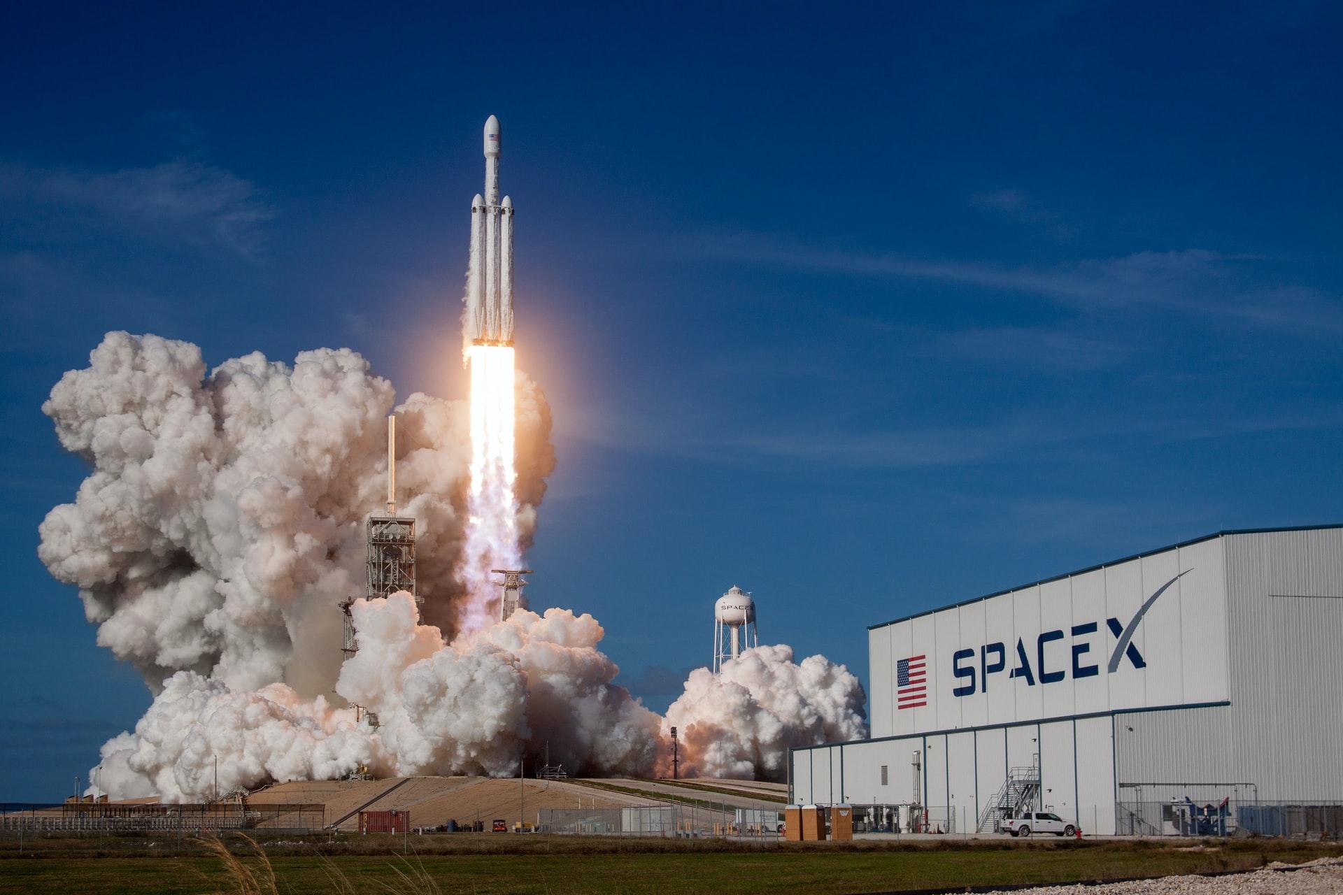 Spacex ptd itdrcjm unsplash