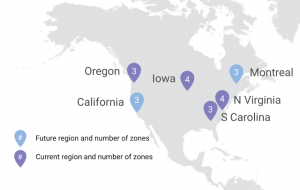 Oregon region (us-west1) adds third zone, Cloud SQL and Regional Managed Instance Groups