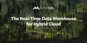 The Real-Time Data Warehouse for Hybrid Cloud