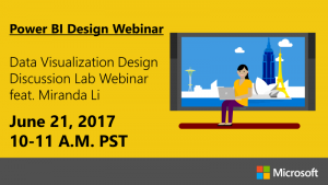Webinar Wednesday: Data Visualization Design Discussion Lab