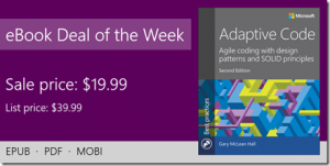 ebook deal of the week: Adaptive Code, Second Edition