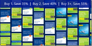 Sale: Save on all certification prep books