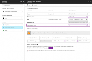 Azure Site Recovery now supports managed disks