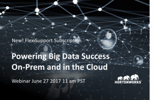 Powering Big Data Success In The Cloud