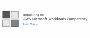 AWS Microsoft Workloads Competency Now Includes Database Solutions and New APN Partners to Serve Customers Running Windows-based Workloads on AWS