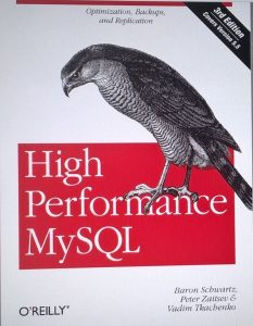 Book Review – High Performance MySQL (3rd edition)
