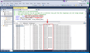 Enhance Azure SQL Data Warehouse performance with new monitoring functionality for Columnstore
