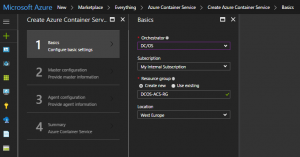 Mesosphere DCOS, Azure, Docker, VMware & Everything Between – Deploying DC/OS with Azure Container Service