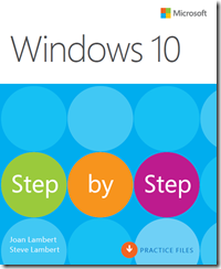 Limited time promotion: Save 50% on Windows 10 Step by Step