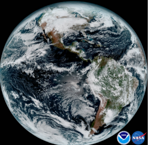 Accessing NOAA's GOES-R Series Satellite Weather Imagery Data on AWS