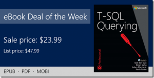 ebook deal of the week: T-SQL Querying