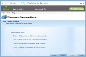 How to Migrate Databases and Data Files
