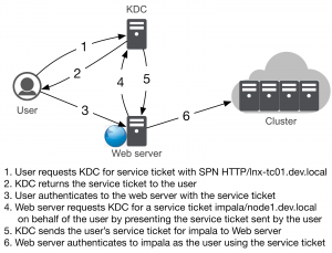 Accessing Secure Cluster from Web Applications