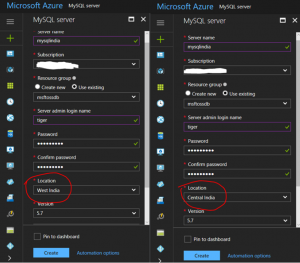 Announcing Azure Database for MySQL and Azure Database for PostgreSQL availability in India