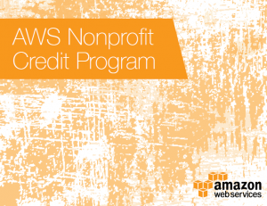 Global Expansion of the AWS Nonprofit Credit Program with TechSoup