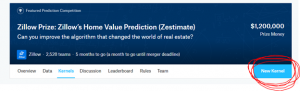 How to Compete for Zillow Prize at Kaggle