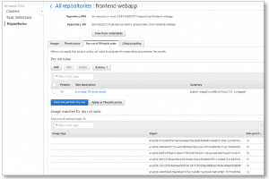 Clean up Your Container Images with Amazon ECR Lifecycle Policies